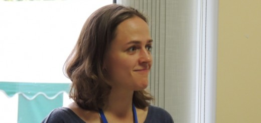 Margarita Lukjanska at Multimedia Summer Camp (2013)