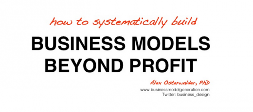Business Models Beyond Profit