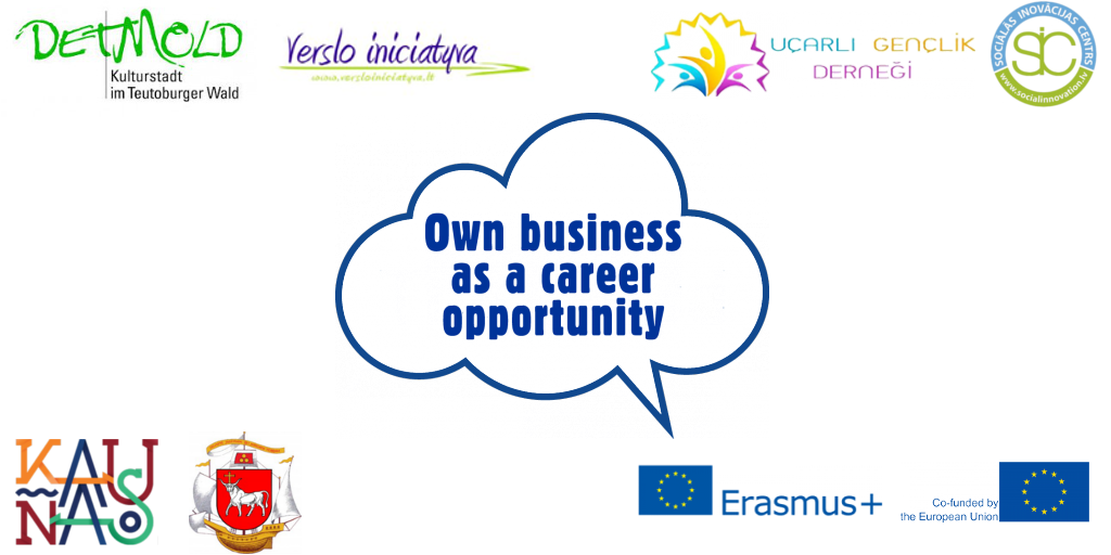Own Business as a Career Opportunity logo