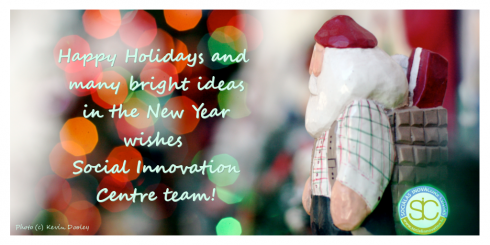social innovation centre holiday greetings